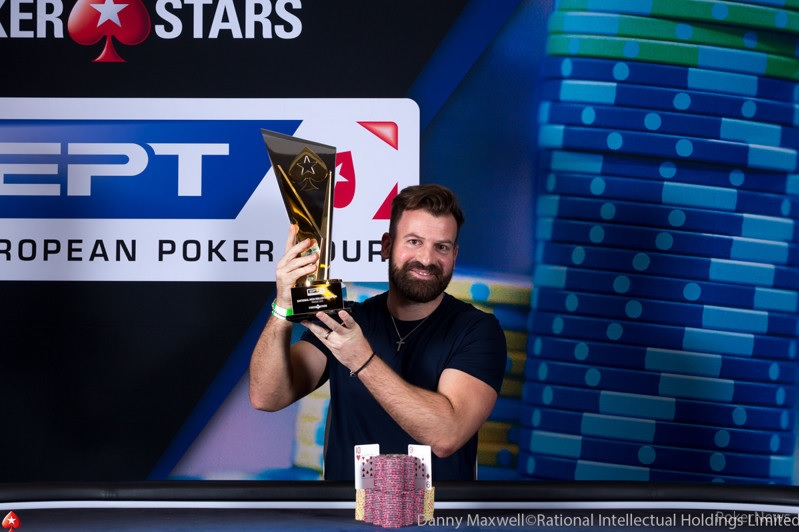EPT Prague : Alexandre Réard vainqueur de l'EPT National High Roller