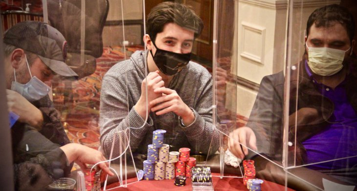 Aria High Rollers : Ali Imsirovic et Sean Perry font le show