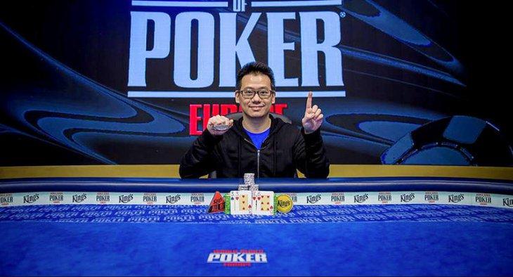 WSOP Online : second bracelet pour Anson Tsang