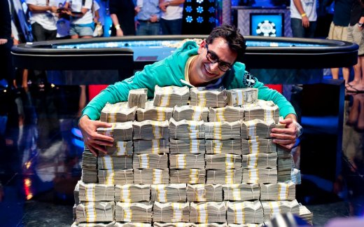 Antonio Esfandiari Vainqueur Du Big One For One Drop Circuit