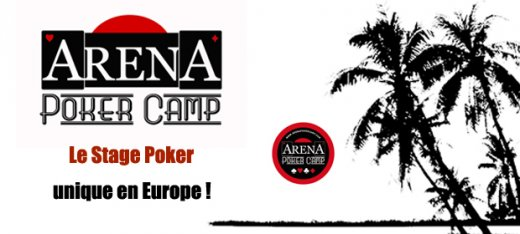 Arena Poker Camp : 3e édition du 14 au 20 avril 2013
