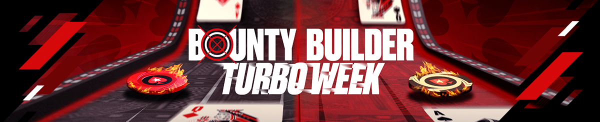 Bounty Builder Turbo Week : PokerStars appuie sur le champignon du 9 au 16 mai