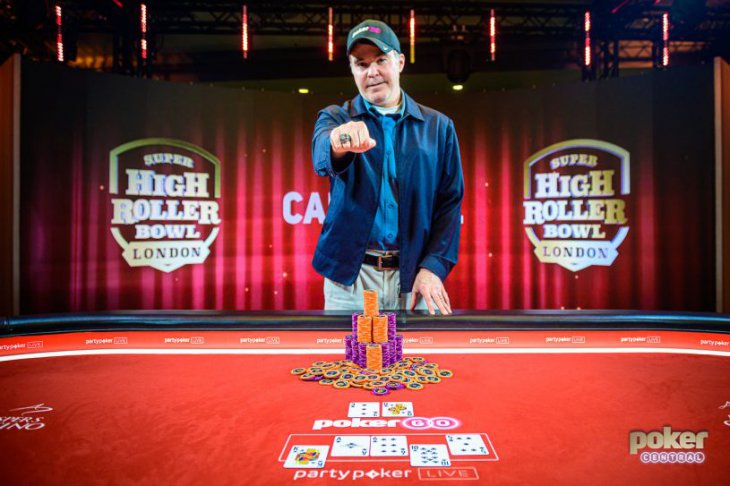 Cary Katz vainqueur du Super High Roller Bowl de Londres