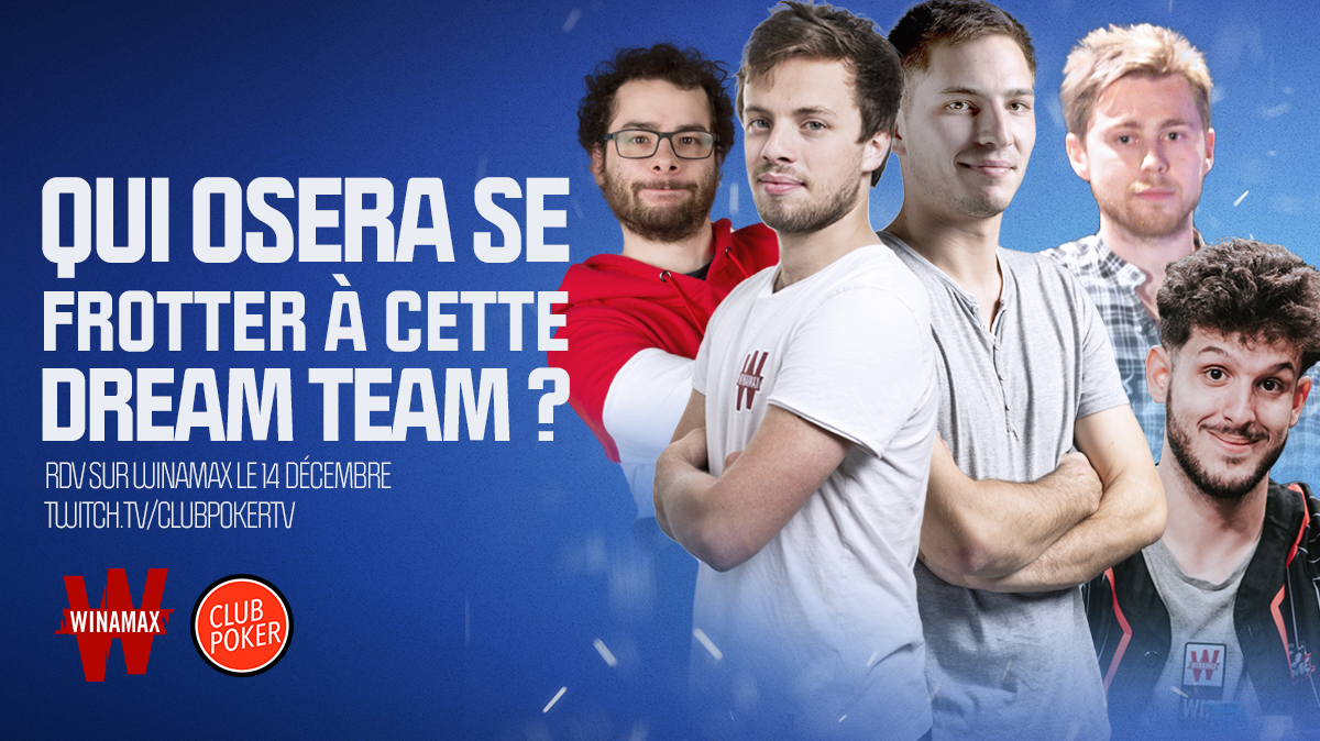 Club Poker TV : un sit'n'go All Stars qui n'attend plus que vous
