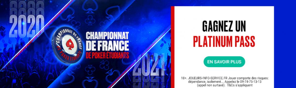 Championnat de France Étudiants de PokerStars : un freeroll avec Doc Seven ce mercredi