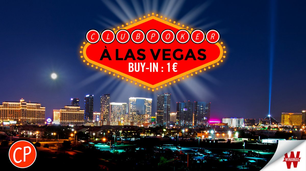 Club Poker à Las Vegas : direction les WSOP !
