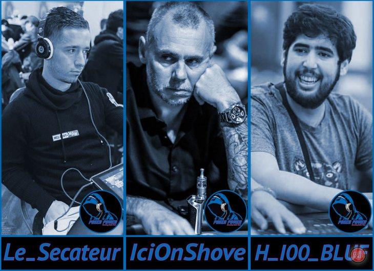 Club Poker Radio S14E15 : spéciale PokerPowerTV avec IciOnShove, Le_secateur et Icantwinflips