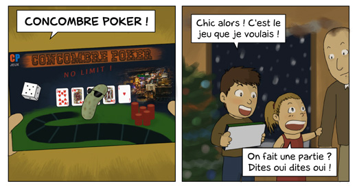 Drawing Poker : Concombre Poker No Limit