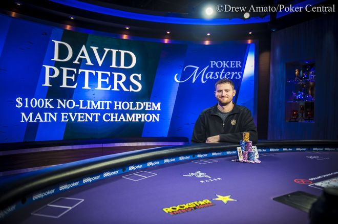 Poker Masters : le Main Event pour David Peters, la veste pour Ali Imsirovic