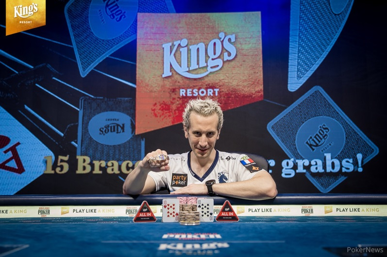 WSOP Europe : ElkY décroche son second bracelet sur le Colossus