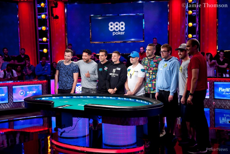 World Series Of Poker : Antoine Labat en table finale du Main Event