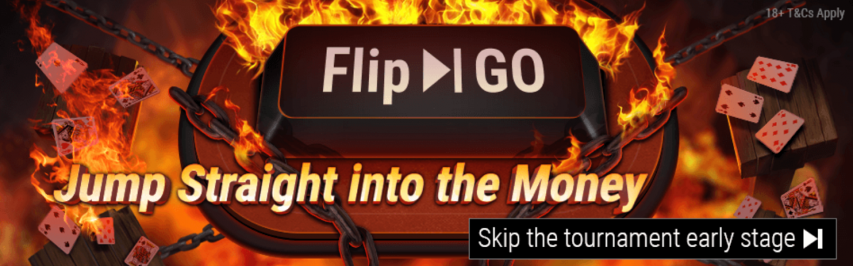 Flip and Go sur GGPoker