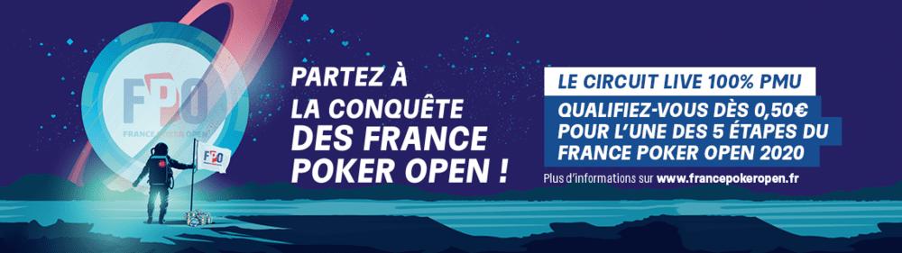 FRANCE POKER OPEN : LE CALENDRIER DE LA 4E SAISON DU CIRCUIT DE