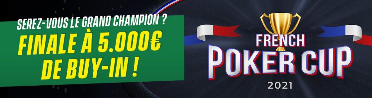 French Poker Cup : la compétition événement d'Unibet en 2021
