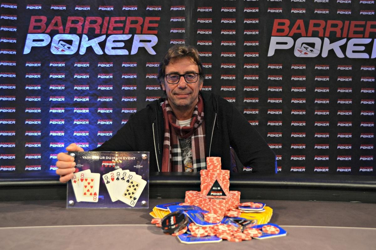 Barrière Poker Tour : Hervé Gouzil sacré à Deauville - Club Poker