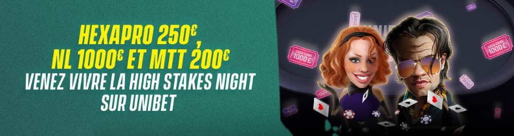 High Stakes Night Unibet