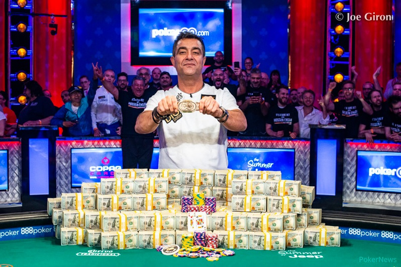 Hossein Ensan vainqueur du Main Event des World Series Of Poker