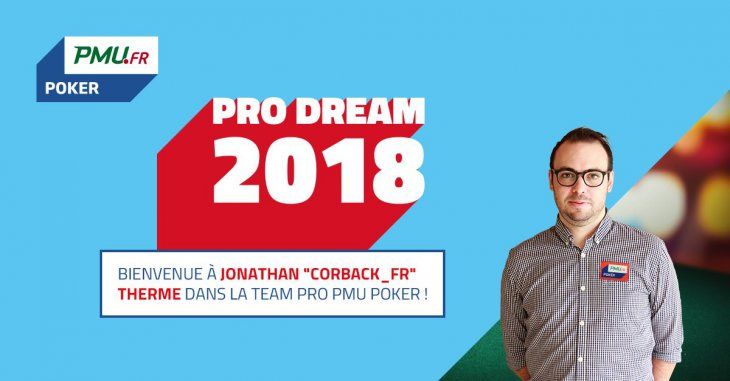 Jonathan Therme : interview du champion de Pro Dream