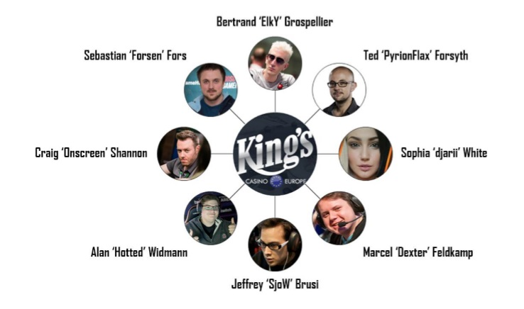 King's Poker Gamers Contest casting