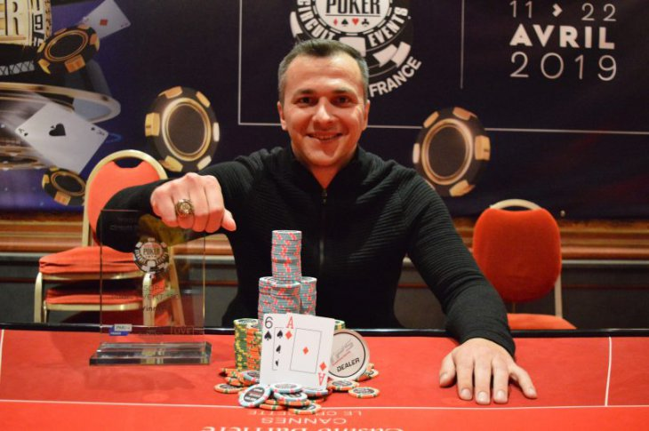 WSOP Circuit Cannes : le Main Event pour Marko Cosic