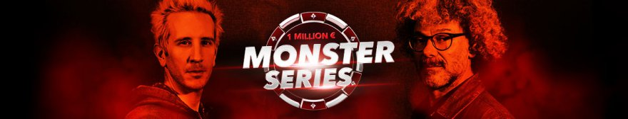 Monster Series : 216 tournois et un million garanti sur partypoker et PMU