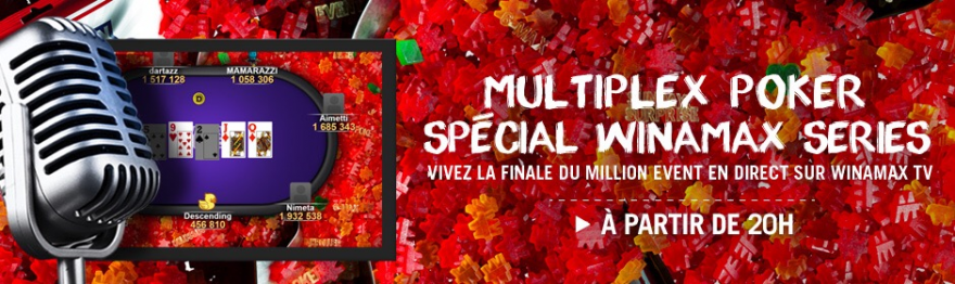 Multiplex Series sur Winamax TV