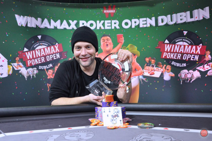 Otto Richard, le beau champion du Winamax Poker Open