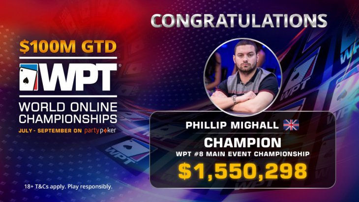 WPT World Online Championships : le Main Event pour Phillip Mighall