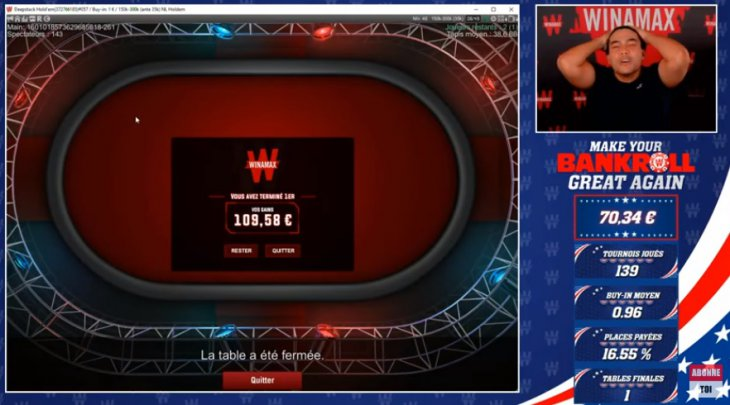 Make Your Bankroll Great Again : Pierre Calamusa tient sa victoire