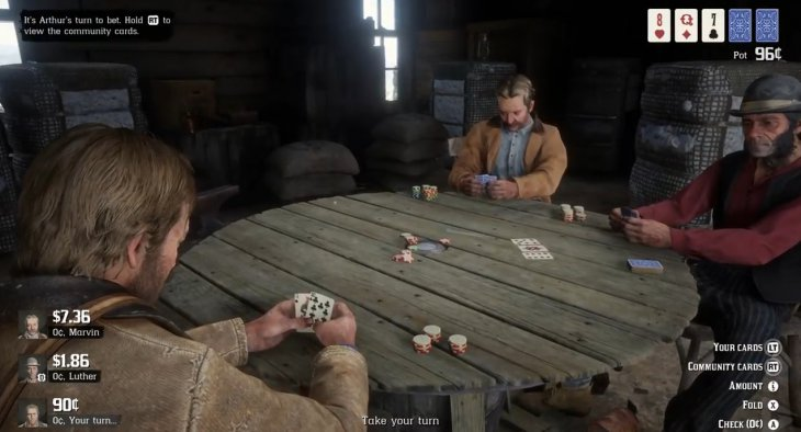 Red Dead Redemption 2 poker 1