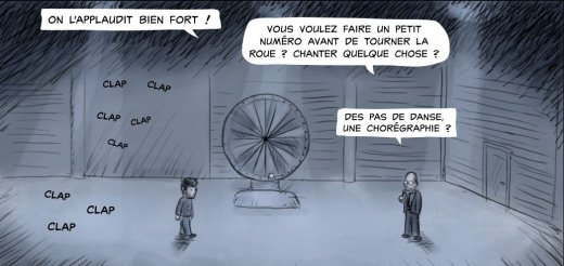 Drawing Poker : la roue de l'infortune