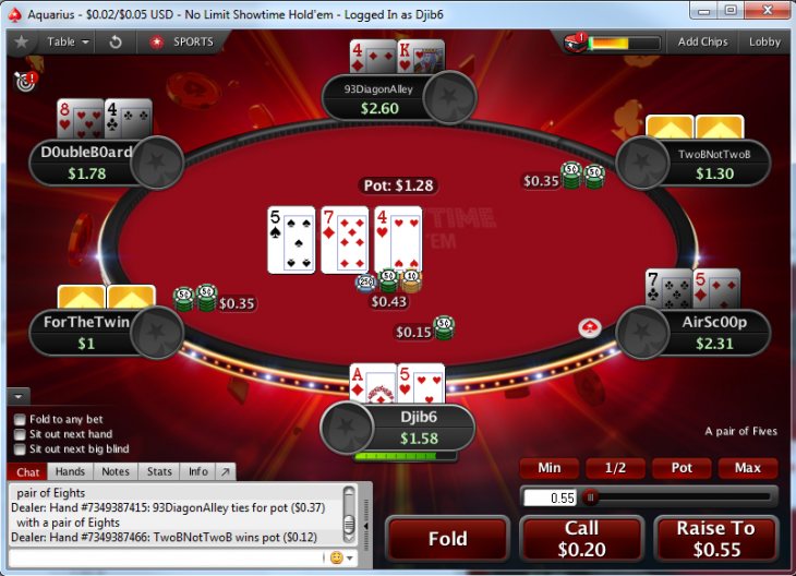 Showtime Hold'em : PokerStars continue d'expérimenter des formats