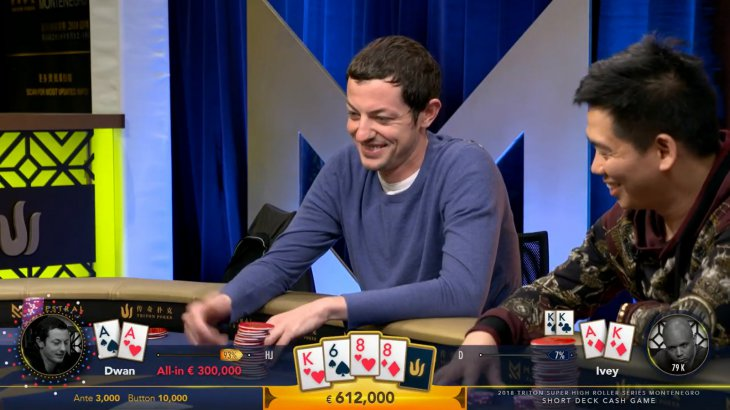 Triton Cash Game : les grosses sacoches de Kane Kalas, Jason Koon et Tom Dwan
