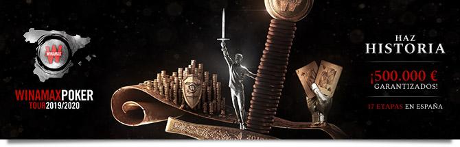 Winamax Poker Tour Espagne : le coverage du lancement sur Club Poker