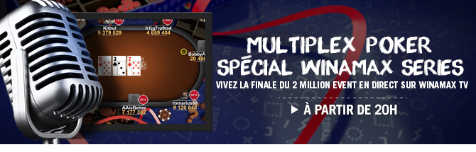 2 Million Event : le final en direct sur Winamax TV