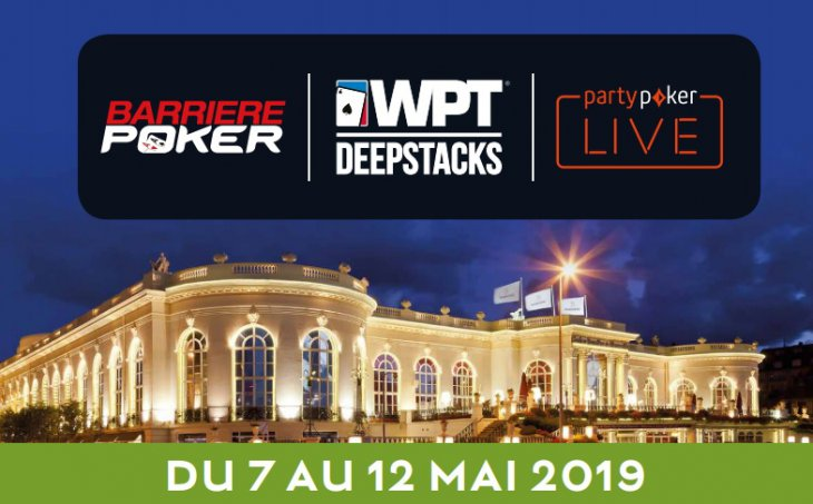 WPTDeepStacks European Championship Deauville : le coverage sur Club Poker
