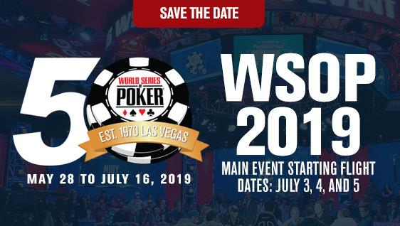 World Series Of Poker : The Big 50 pour lancer la 50e édition