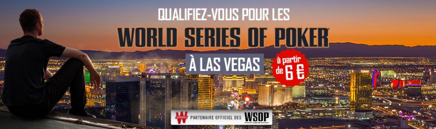 World Series Of Poker 2018 : le programme des qualifications sur Winamax