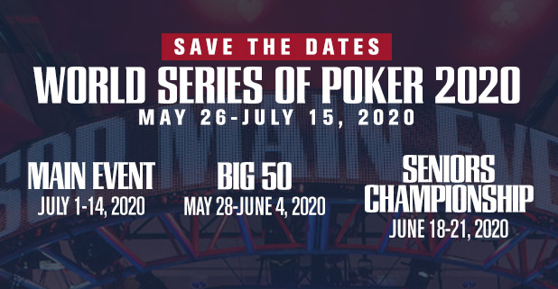 WSOP Save the Dates