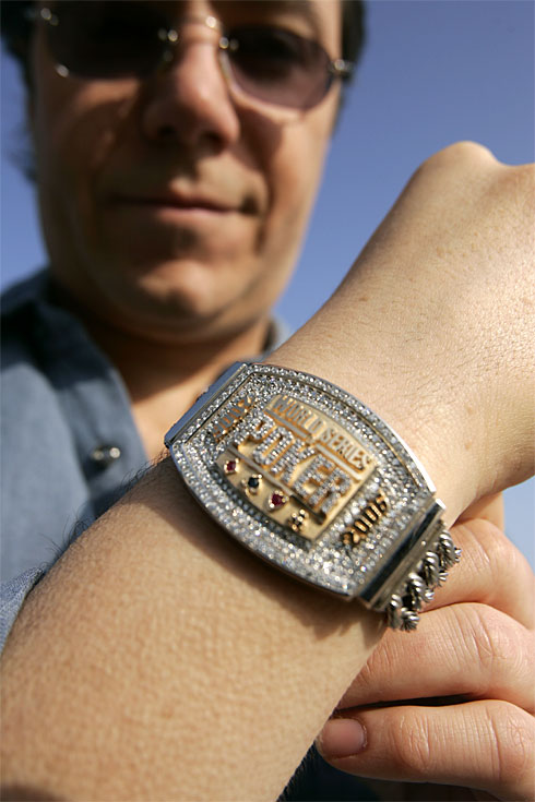 Le bracelet de Jamie Gold (crédit photo  Robert Hanashiro / USA Today)