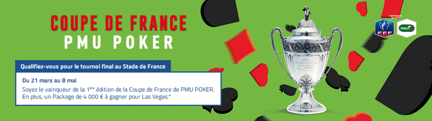 coupe de France PMU Poker