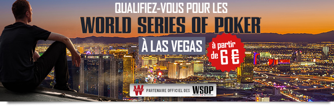 Cover satellites WSOP Vegas Winamax