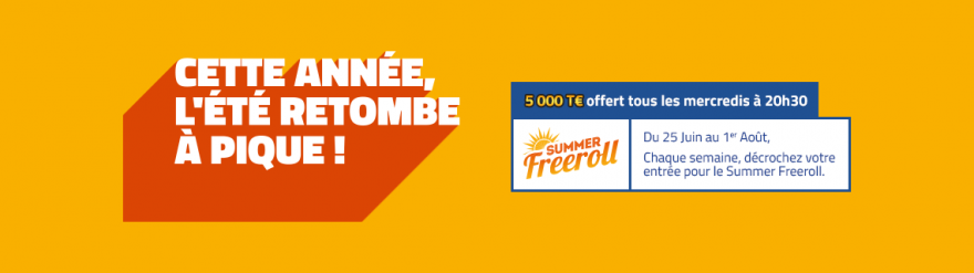 Summer Freeroll by PMU
