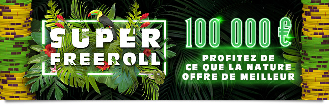 Super Freeroll Winamax 2018