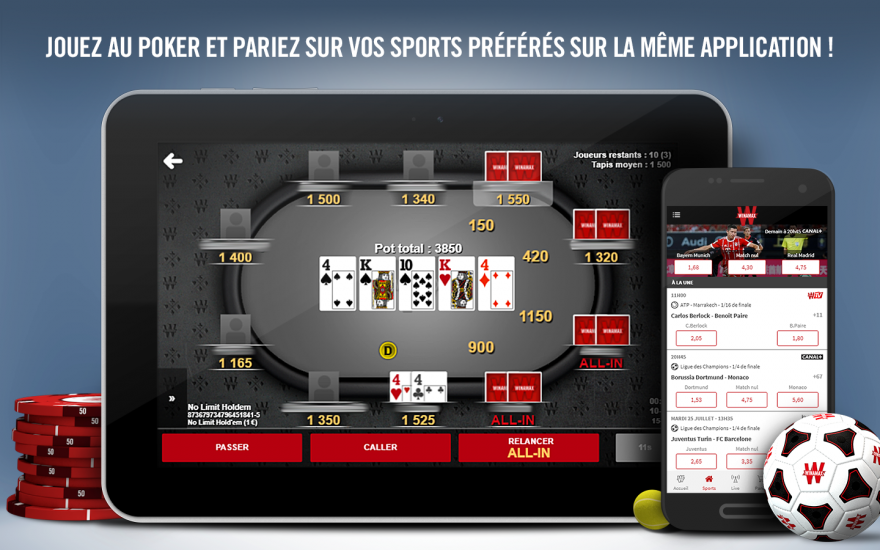 Winamax Poker Android Phone and Tablet