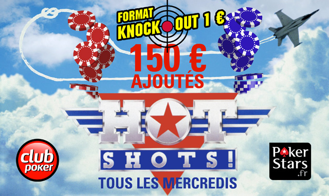 Hot Shots Club Poker Knock Out
