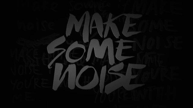Logo we will make noise